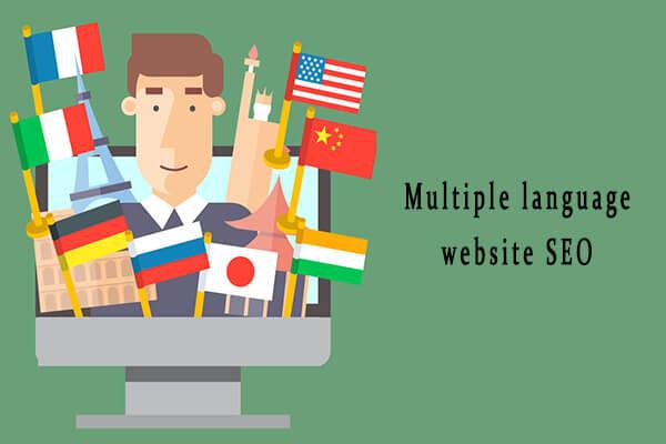 Multiple language website SEO